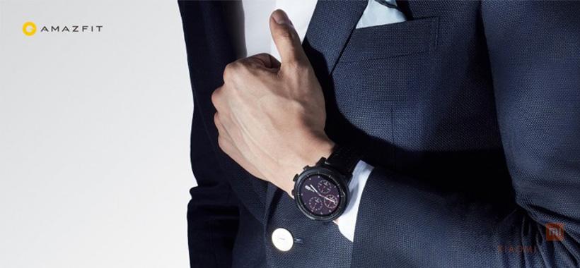 ساعت هوشمند امیزفیت مدل STRATOS PLUS