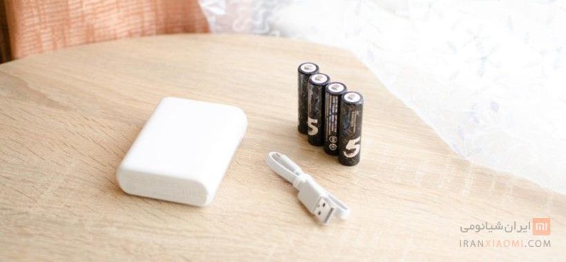 شارژر باتری قلمی و نیم قلمی شیائومی مدل PB401