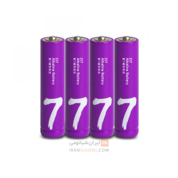 باتری نیم قلمی شیائومی مدل ZI7 بسته