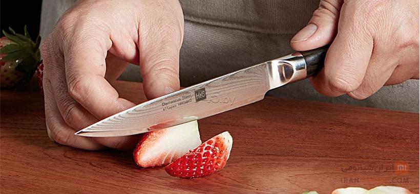 ست چاقو فولادی شیائومی مدل HuoHou HU0014
