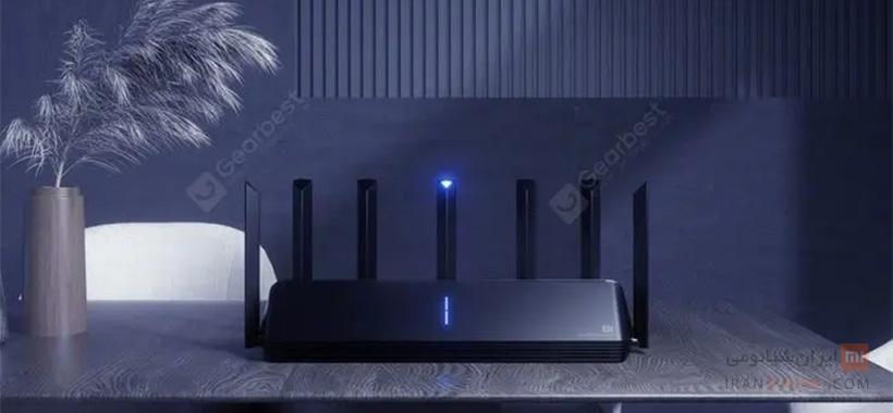 روتر بی سیم شیائومی مدل Mi AIoT Router AX3600